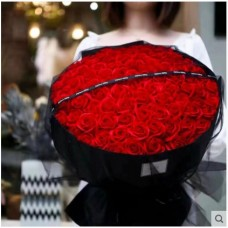 99 Red Rose Style Bouquet